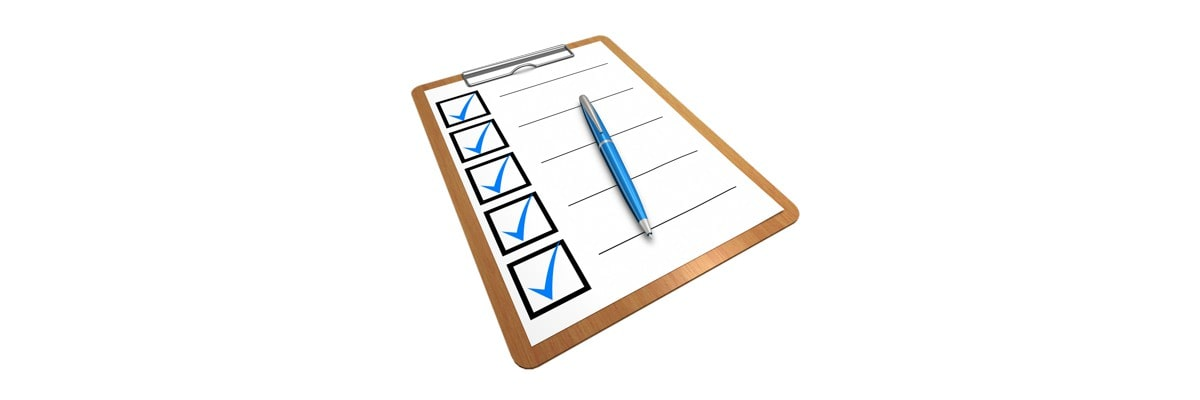 Event organizer checklist