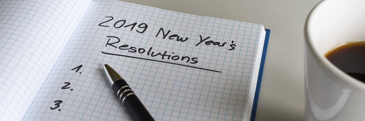 Event organizer - New Year's resolutions
