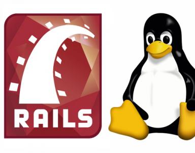 Konfeo Rails Linux Debian logo