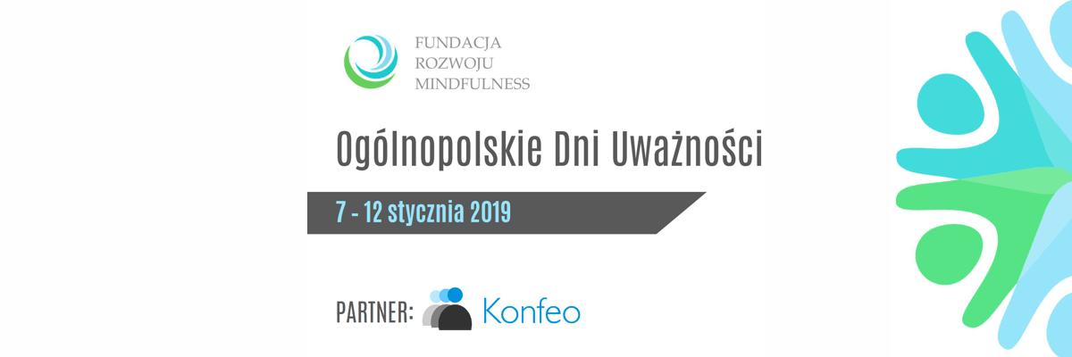 Konfeo - partner Ogólnopolskich Dni Uważności 2019